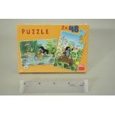 Puzzle 2x48 Krtek
