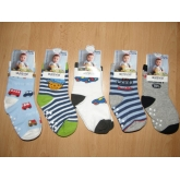 AURA.VIA chlapecké kojeneké ponožky / 5ks