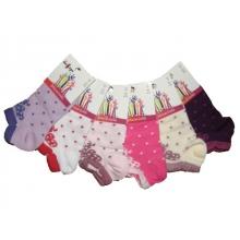 Designs socks dívčí kotníkové ponožky DEKO48 - 6ks