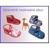 Dětské bačkory 705 - vel. 18 / 12 cm vnitřní stélka