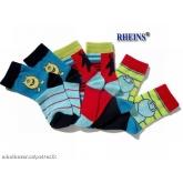 Chlapecké ponožky smail 3ks