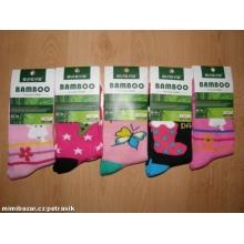 AURA.VIA GGN05 dívčí bambusové ponožky