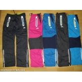 KUGO K505 Šusťákové kalhoty slabé s bavlněnou podšívkou