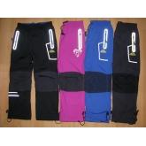 KUGO H-209 Šusťákové kalhoty zateplené fleesem