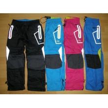 KUGO K-715 šusťákové kalhoty slabé s bavlněnou podšívkou