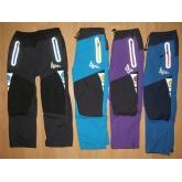 KUGO H591 zateplené kalhoty podšité fleesem