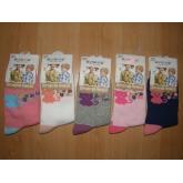 AURA.VIA GN70 dívčí ponožky  5ks