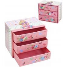 Šperkovnice dětská 3 šuplíčky skříňka na šperky