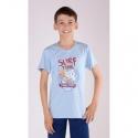 Dětské pyžamo kapri Žralok modré