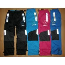 KUGO K-718 šusťákové kalhoty slabé s bavlněnou podšívkou