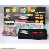 LOOM BANDS - silikonové gumičky / náramky 600ks