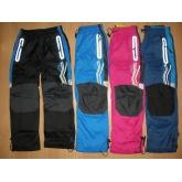 KUGO K-807 šusťákové kalhoty slabé s bavlněnou podšívkou