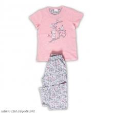 Dětské pyžamo kapri Papoušci LOSOSOVÉ