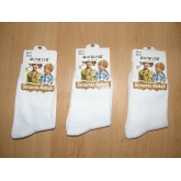 AURA.VIA G011 dívčí klasické bavlněné ponožky