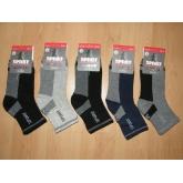 AURA.VIA GZS3000 chlapecké klasické ponožky