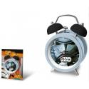 Kovový budík Star Wars Stormtrooper 12 cm