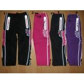 KUGO D916 zateplené šusťákové kalhoty 98-128