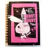 Zápisník Playboy Black and Raspberry A6