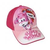 Kšiltovka Super Wings růžová vel. 53