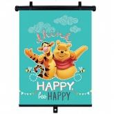 SEVEN Sluneční clona Roletka Medvídek Pú  Plast, Polyester, 1ks cm