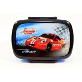 BENIAMIN Box na svačinu Závodní Auto Polypropylen, 18x13x6 cm