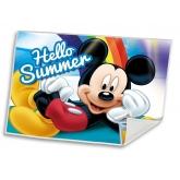 EUROSWAN Dětský ručník Mickey Summer  Polyester, 30/40 cm