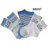 Chlapecké ponožky Daddy 3ks