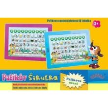 Pafaas dětský tablet Pafíkův šikulka RŮŽOVÝ