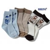 RHEINS chlapecké ponožky AUTOBUS vel. 27-30 3ks