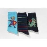 RHEINS chlapecké ponožky DRAK vel. 27-30 3ks