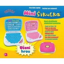 Dětský notebook / počítač MINI ŠIKULKA (barva mix)