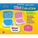 Dětský notebook / počítač MINI ŠIKULKA (modrý)