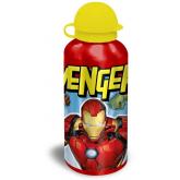 EUROSWAN ALU láhev Avengers red  Hliník, Plast, 500 ml