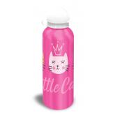 EUROSWAN ALU láhev Kočičky růžová  Hliník, Plast, 500 ml