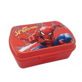 EUROSWAN Box na svačinu Spiderman red Plast, 16 x 12 x 5 cm