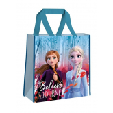 EUROSWAN Dětská nákupní taška Ledové Království 2 Believe Polypropylen, 38 cm