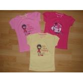 Dívčí tričko WOLF S2311