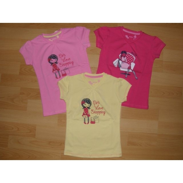 Dívčí tričko WOLF S2311 358319b371