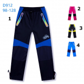 KUGO D912 zateplené šusťákové kalhoty