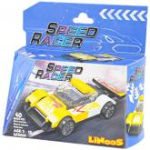 LiNooS stavebnice Auto sportovní 40d