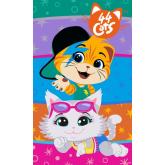 FARO Dětský ručník 44 Cats Bavlna - Froté, 50/30 cm