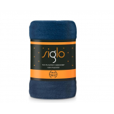 FARO Deka mikroplyš super soft modrá  Polyester, 150/200 cm