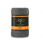 FARO Deka mikroplyš super soft tmavě šedá  Polyester, 150/200 cm