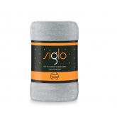 FARO Deka mikroplyš super soft světle šedá  Polyester, 150/200 cm