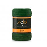 FARO Deka mikroplyš super soft lahvově zelená  Polyester, 150/200 cm