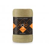 FARO Deka mikroplyš super soft béžová  Polyester, 220/200 cm