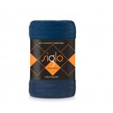 FARO Deka mikroplyš super soft modrá  Polyester, 220/200 cm