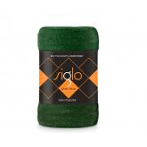 FARO Deka mikroplyš super soft lahvově zelená  Polyester, 220/200 cm