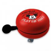 Kovový retro zvonek na kolo Mickey play in cool