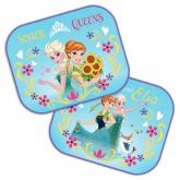 Sluneční clony Ledové Království Anna a Elsa 2 ks